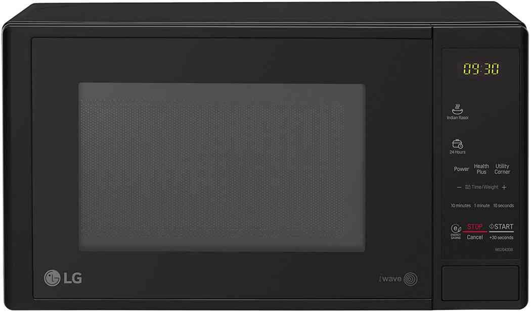 LG 20 L Solo Microwave Oven (MS2043DB, Black) 20L Capacity