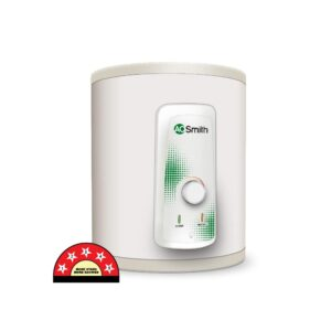 AO Smith HSE-VAS-X-015 Storage 15 Litre Vertical Water Heater (Geyser) White 5 Star