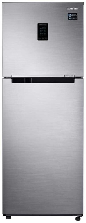 Samsung 324L 3 Star Inverter Double Door Refrigerator (RT34T4513S8:HL,Convertible)
