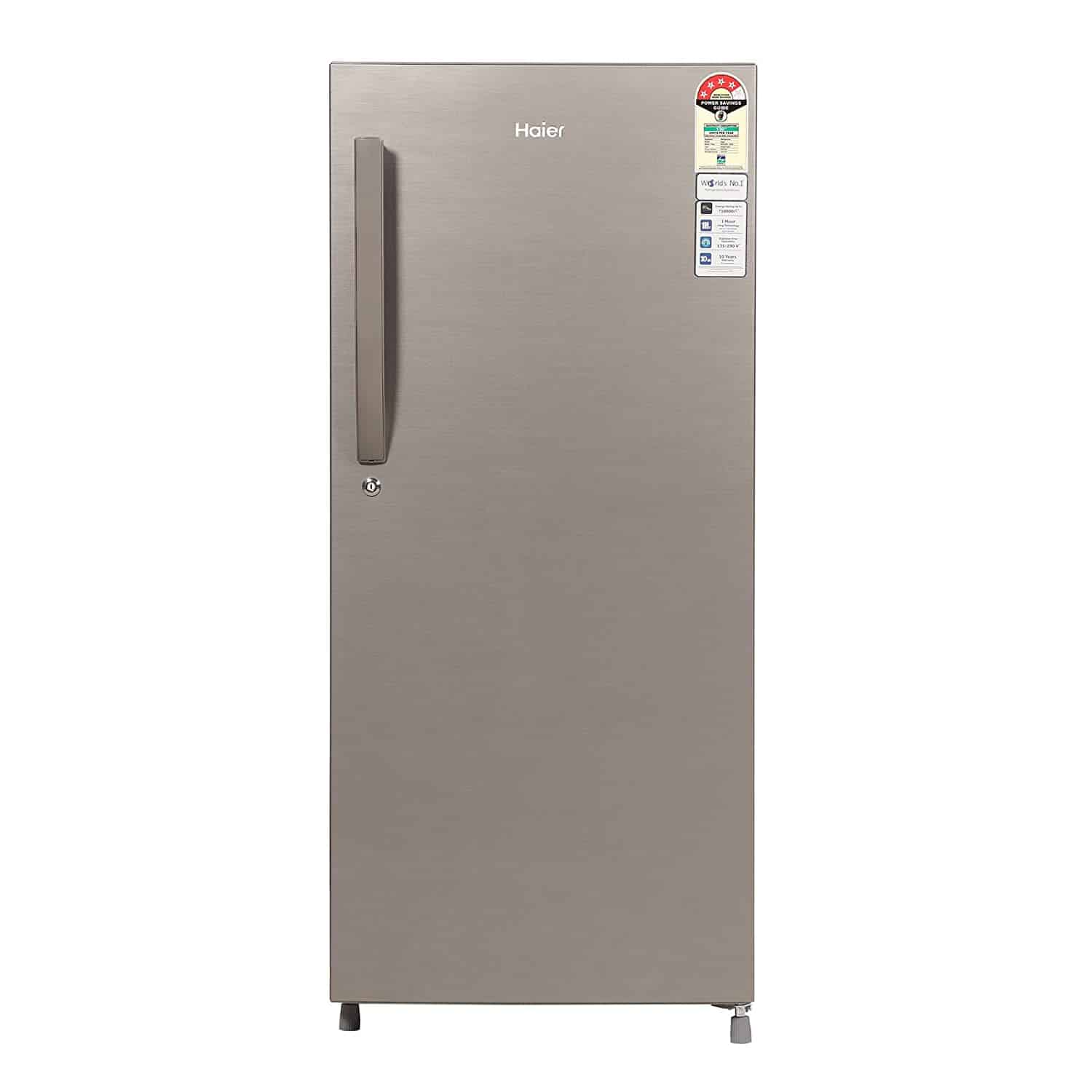 Haier 195L 4-Star Single Door Refrigerator-