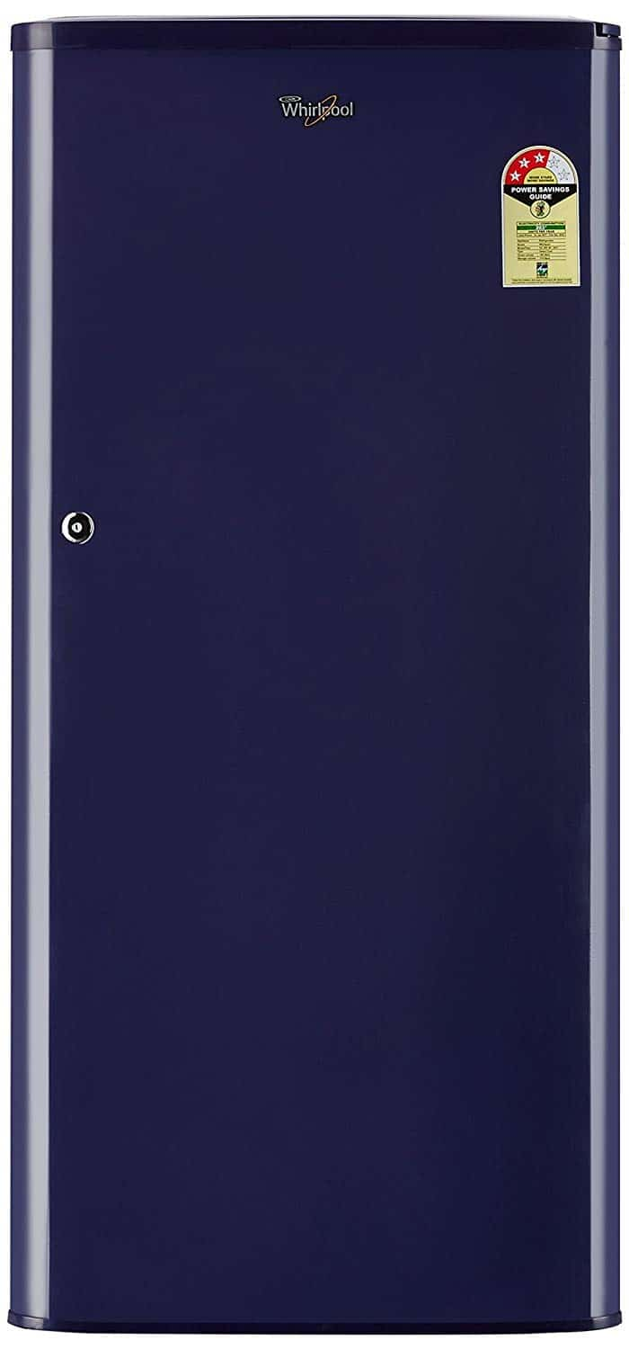 Whirlpool 190L 3-Star Direct Cool Single Door Refrigerator-