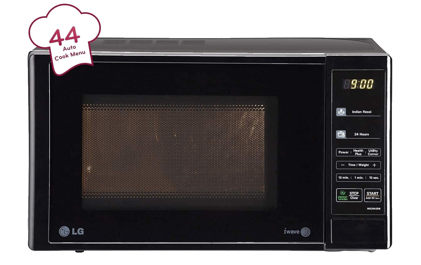 best LG Microwave oven in India Transparant