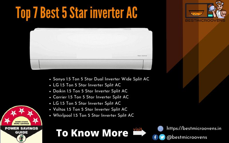 Best 5 Star Inerter AC