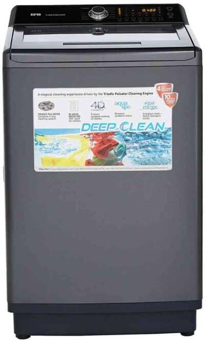 IFB TLSDG Fully-automatic Top-loading Washing Machine (9.5 Kg, Graphite Grey, Aqua Energie water softener)
