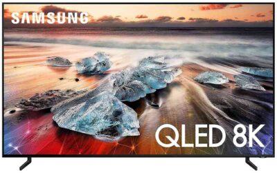 Samsung 208 cm (82 inches) 8K Ultra HD Smart QLED TV QA82Q900RBKXXL (Black) (2019 Model)