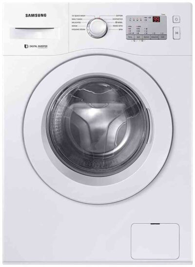 Samsung 6.0 Kg Inverter 5 Star Fully-Automatic Front Loading Washing Machine (WW60R20GLMA:TL, White)