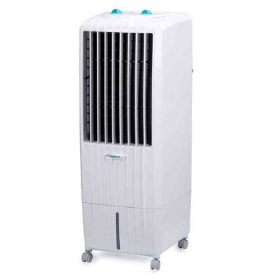 Symphony Diet 12T Personal Tower Air Cooler 12-litres, Multistage Air Purification, Honeycomb Cooling Pads, Powerful Air Throw & Low Power Consumption (White)